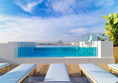 Hotel h10 puerta de alcal swimming pool madrid - Hotels in madrid spain with swimming pool ...